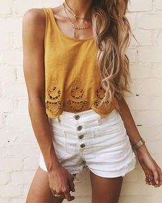 Scalloped tank for $38. ☀️