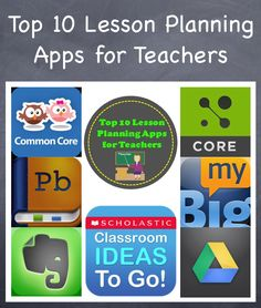 Share this with Teachers that you know!     http://www.smartappsforkids.com/2013/08/top-lesson-planning-apps-for-teachers.html