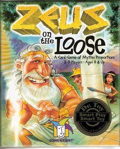 Zeus on the Loose – распечатай и играй - Настольные игры: Nастольный Blog - Всё о настольных играх на русском языке