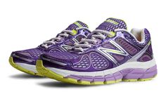 New Balance 860v4, Purple with White- my new favorite running shoes!