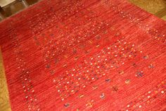 イラン輸入手織りオリジナルギャッベウール948500
