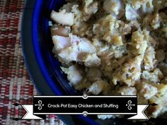 Crock-Pot Ladies Crock-Pot Easy Chicken and Stuffing