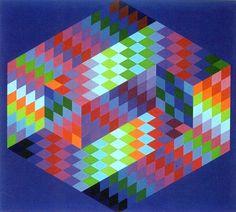 Оп-арт - геометрия и искусство
