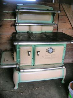 1930 S Antique Spark Gas Amp Wood Range Antique Stoves And