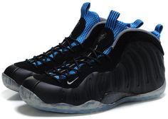 buy online 0601f 771a9 Nike Air Foamposite One Black Varsity Royal0 Penny Hardaway Sneakers,  Sneakers Box, Black Sneakers