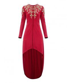 Red Vine Blossom Tunic - New Arrivals | SHOP NOW ON : http://bit.ly/NamrataJoshipura_shop