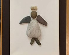 Angel Pebble Art Canvas Picture