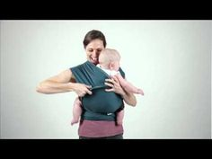 instructions: hug hold – MOBY baby carriers