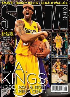 Kobe Bryant left a Lakers pre-season game in Las Vegas early . and rushed to the bedside of his former teammate Lamar Odom Tuesday night -- Kobe Bryant Family, Kobe Bryant 8, Lakers Kobe Bryant, Slam Magazine, Sports Magazine, Magazine Covers, Dear Basketball, Basketball Legends, Nba Players