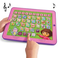 Dora the Explorer Bilingual Learning Pad