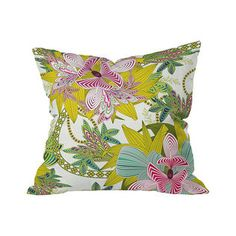 Winston Garden Outdoor Throw Pillow