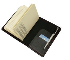 """FLEXI(""""M"""")Premium- genuine black cow-leather notebook; Leather Notebook, Leather Journal, Black Cow, Personal Organizer, Notebook Covers, Leather Cover, Cow Leather, Cool Suits, Band"""