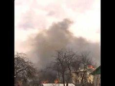 Момент взрыва магазина пиротехники в Орле 23/04/2015 (VIDEO)