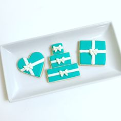 Tiffany Theme Cookies