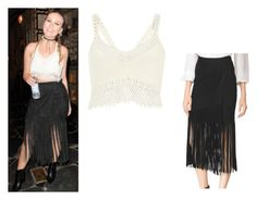 """""""Perrie Edwards"""" by little-mixoutfits ❤ liked on Polyvore featuring Tamara Mellon and River Island"""