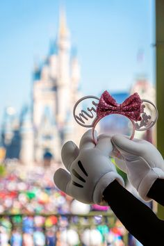 Bride Collection Custom Mouse Ears 3D Printed Ears Rose