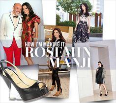 Rosemin Manji Success Story, Pretty Much, Business Women, Ontario, Envy, Nice Dresses, Christian Louboutin, Awards, Career