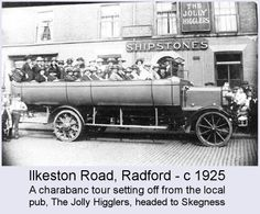those were the days, Local History, Family History, Nottingham Pubs, Local Pubs, Bus Coach, Old Street, Coaches, Old Pictures, Taxi
