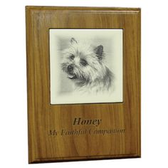 The Walnut Picture Plaque features a picture from your collection beautifully laser etched into the wood. This piece is sure to become a cherished heirloom for your family, keeping precious memories alive for generaions.Personalize the memorial even further with free engraving up to three lines.