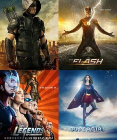 Arrow The Flash legends of tomorrow Supergirl, DC Super Hero Girls: Super Hero High Super Hero High, Dc Super Hero Girls, Legends Of Tommorow, Dc Legends Of Tomorrow, Supergirl Dc, Supergirl And Flash, Series Dc, Chicago Fire, Superhero Shows