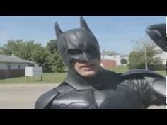Batman and Captain America team up to rescue a cat