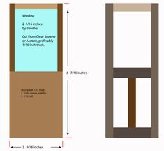 How To Make Custom Opening Doors For Dollhouses And Model Buildings