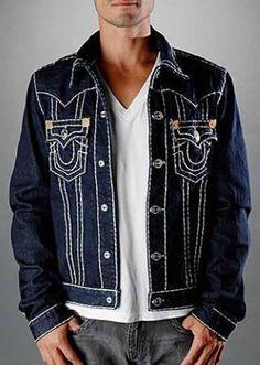 Cheap True Religion Jean Jackets For Men