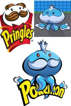 Pokémon ~~ Gotta eat 'em all! pringles