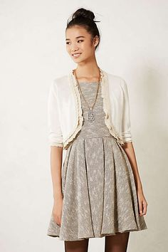4b75c1ca36 Anthropologie - Scalloped Knit Bolero Girly Outfits