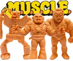 I remember having a little garbage can full of these M.U.S.C.L.E Men back in the 1980s. They were about an inch tall and there were dozens of different characters, each with a lot of detail. I was ...