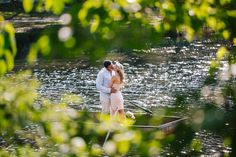Row boat engagement session.