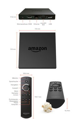 Amazon Fire TV mit 4K Ultra HD - Amazon.de | Streaming Media Player