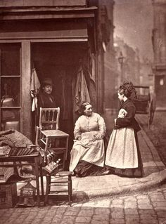 Life in Victorian London | Victorian photographer John Thomson and Street Life in London, 1876