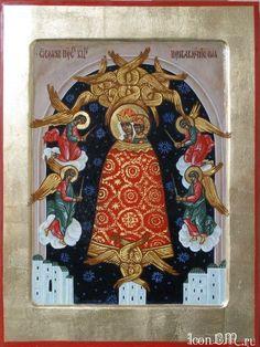 Икона Божией Матери именуемая «Прибавление ума» («Подательница ума»)