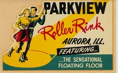 """skateyourdate: """" Parkview Roller Rink - Aurora, Illinois """" I want to go there and skate on the sensational floating floor Roller Skating Rink, Roller Rink, Roller Disco, Roller Derby, Roller Skating Pictures, Matchbox Art, X Games, Burton Snowboards, Old Signs"""