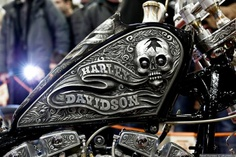 Harley-Davidson. A amazing paint job