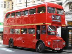 Big Red London Bus Ride (Routemaster)