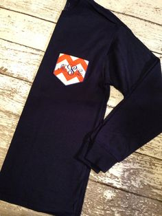 sooo...i literally might order this right now! lol Auburn Pocket Tee in Long Sleeve on Etsy, $25.00