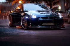 Just a cool picture. Nissan GTR