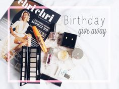 Give away time – birthday box.