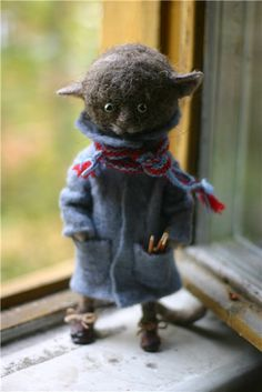 felted kitty pixy69
