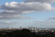 The stunning city view from Parliament Hill.