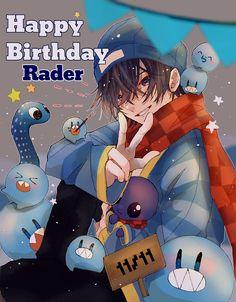 Otaku, Happy Birthday, Fan Art, Drawings, Anime Boys, Happy Brithday, Urari La Multi Ani, Happy Birthday Funny, Sketches