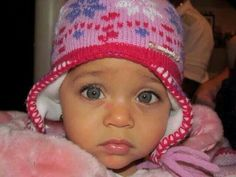 18 f ~~Adorable mixed kids~~~ --I love babies-- mixed babies are Biracial Children, Biracial Babies, Cute Kids, Cute Babies, Baby Kids, Pretty Kids, Beautiful Children, Beautiful Babies, Beautiful Eyes