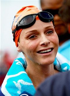 2011 aQuelle Midmar Mile Race Charlene Of Monaco, Princess Charlene, Prince Albert, Oakley Sunglasses, Swimming, Events