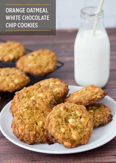 Soft and chewy, those coffee, chocolate and pecans cookies offer a ...