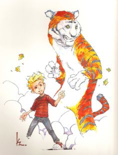 Calvin and Hobbes by Kenneth Rocafort