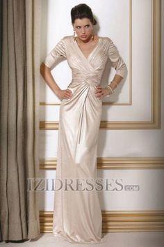 Sheath/Column V-neck Mother Of The Bride Dress - IZIDRESSES.COM at IZIDRESSES.com
