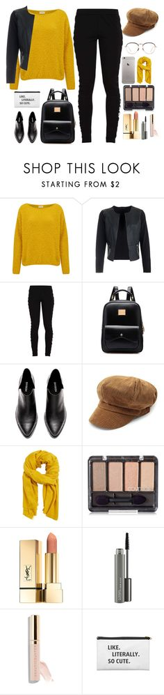 """MY FAV FALL COLOR"" by naomy-nona ❤ liked on Polyvore featuring American Vintage, Puma, MANGO, MAC Cosmetics, Beautycounter and Linda Farrow"