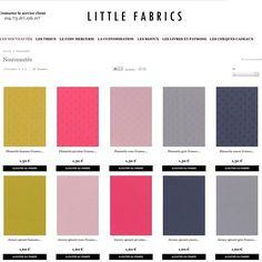 NEW   Les nouveaux #plumetis et #jersey ajourés @franceduvalstalla sont en ligne ! #littlefabrics #tissus #mercerie #jerseyajouré #franceduvalstalla #couture